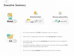 Selling Home Property Executive Summary Ppt Model Master Slide PDF