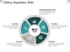 Selling Negotiation Skills Ppt PowerPoint Presentation Ideas Tips Cpb