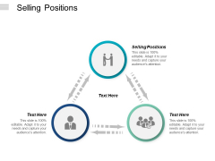 Selling Positions Ppt PowerPoint Presentation Layouts Examples Cpb