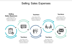 Selling Sales Expenses Ppt PowerPoint Presentation Ideas Graphics Cpb