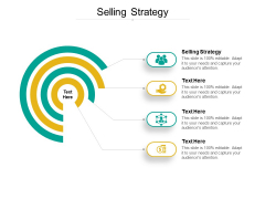 Selling Strategy Ppt PowerPoint Presentation Professional Icon Cpb