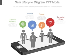 Sem Lifecycle Diagram Ppt Model