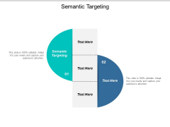 Semantic Targeting Ppt PowerPoint Presentation Styles Graphics Tutorials Cpb