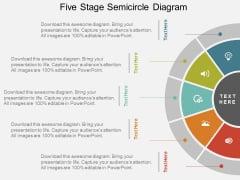 Semi Circular Free PowerPoint Template