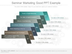 Seminar Marketing Good Ppt Example