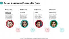 Senior Management Leadership Team Ppt Outline Templates PDF