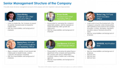 Senior Management Structure Of The Company Elements PDF