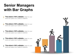 Senior Managers With Bar Graphs Ppt PowerPoint Presentation Ideas Professional PDF