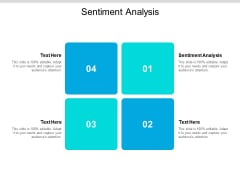 Sentiment Analysis Ppt PowerPoint Presentation Gallery Templates Cpb
