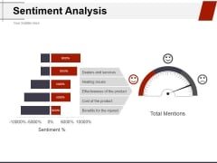 Sentiment Analysis Ppt PowerPoint Presentation Ideas Structure