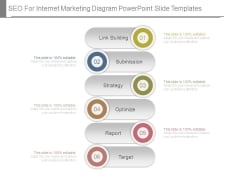 Seo For Internet Marketing Diagram Powerpoint Slide Templates