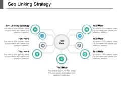 Seo Linking Strategy Ppt PowerPoint Presentation Slides Designs Cpb