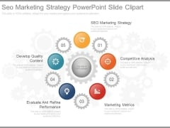 Seo Marketing Strategy Powerpoint Slide Clipart