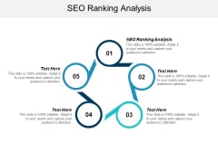 Seo Ranking Analysis Ppt PowerPoint Presentation Slides Graphics Download Cpb