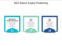Seo Search Engine Positioning Ppt PowerPoint Presentation File Graphics Design Cpb