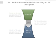 Seo Services Conversion Optimization Diagram Ppt Background