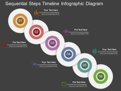 Sequential Steps Timeline Infographic Diagram Powerpoint Template