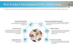 Series A Funding For Start Up New Product Development Plan And Strategy Download PDF