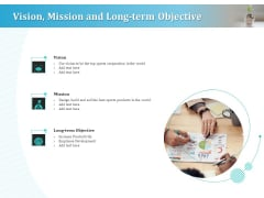Series A Funding For Start Up Vision Mission And Long Term Objective Rules PDF