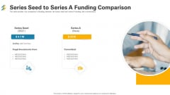 Series Seed To Series A Funding Comparison Ppt Show Sample PDF