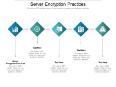 Server Encryption Practices Ppt PowerPoint Presentation Pictures Outline Cpb Pdf
