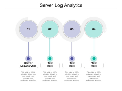 Server Log Analytics Ppt PowerPoint Presentation Infographics Pictures Cpb