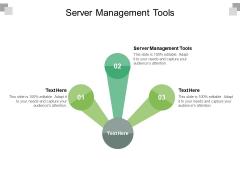 Server Management Tools Ppt PowerPoint Presentation Gallery Portrait Cpb Pdf