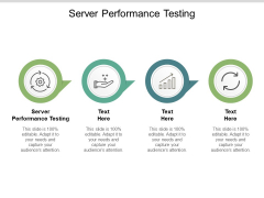 Server Performance Testing Ppt PowerPoint Presentation Infographics Inspiration Cpb