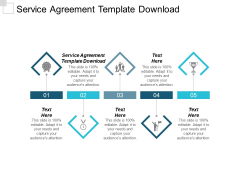 Service Agreement Template Download Ppt PowerPoint Presentation Layouts Graphics Design Cpb