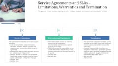 Service Agreements And Slas Limitations Warranties And Termination Download PDF