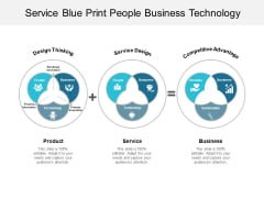 Service Blue Print People Business Technology Ppt Powerpoint Presentation Gallery Inspiration