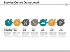 Service Centre Outsourced Ppt PowerPoint Presentation Inspiration Smartart