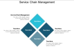 Service Chain Management Ppt PowerPoint Presentation Portfolio Objects Cpb