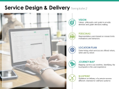 Service Design And Delivery Template 2 Ppt PowerPoint Presentation Gallery Deck