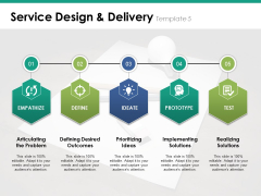 Service Design And Delivery Template 5 Ppt PowerPoint Presentation File Infographics