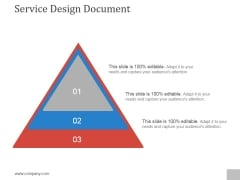 Service Design Document Template 1 Ppt PowerPoint Presentation Portfolio