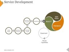 Service Development Ppt PowerPoint Presentation Infographics Visuals