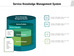 Service Knowledge Management System Ppt PowerPoint Presentation Infographic Template Layouts PDF