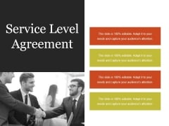 Service Level Agreement Ppt PowerPoint Presentation Designs