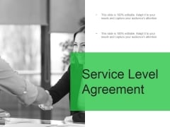 Service Level Agreement Ppt PowerPoint Presentation Guide