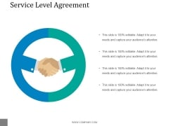 Service Level Agreement Ppt PowerPoint Presentation Microsoft