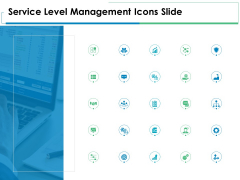 Service Level Management Icons Slide Management Ppt PowerPoint Presentation Ideas Templates