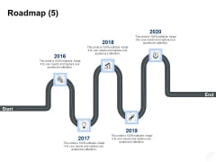 Service Market Research Roadmap Ppt Infographics Objects PDF