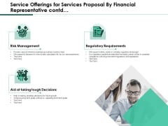 Service Offerings For Services Proposal By Financial Representative Contd Download PDF