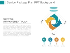 Service Package Plan Ppt Background