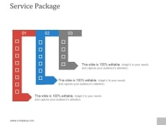 Service Package Ppt PowerPoint Presentation Gallery