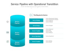 Service Pipeline With Operational Transitition Ppt PowerPoint Presentation Styles Example Introduction PDF