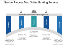 Service Process Map Online Banking Services Ppt PowerPoint Presentation Icon Background Cpb