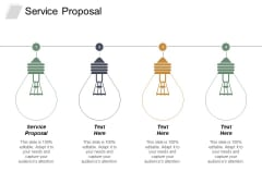 Service Proposal Ppt PowerPoint Presentation Inspiration Topics Cpb
