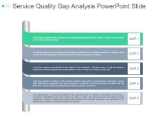 Service Quality Gap Analysis Ppt PowerPoint Presentation Visuals